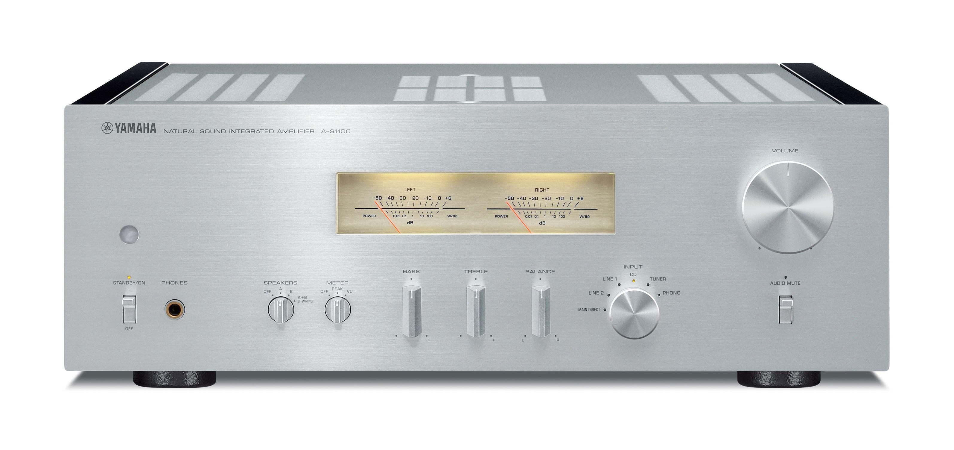 hjemme hi fi forsterkere stereo yamaha a s1100. Black Bedroom Furniture Sets. Home Design Ideas